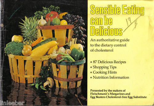 SENSIBLE EATING CAN BE DELICIOUS-CHOLESTEROL CONTROL DI