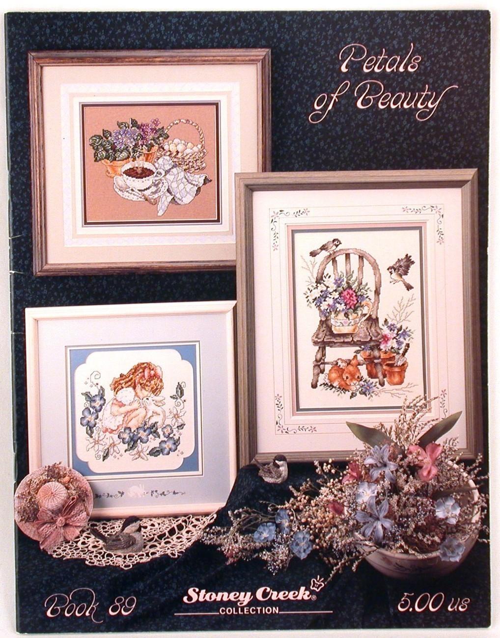 Cross stitch petals of beauty