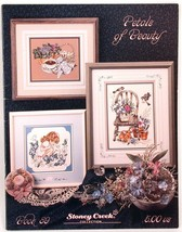 Petals of Beauty Stoney Creek Cross Stitch Patterns Book 89 Flowers - $5.00