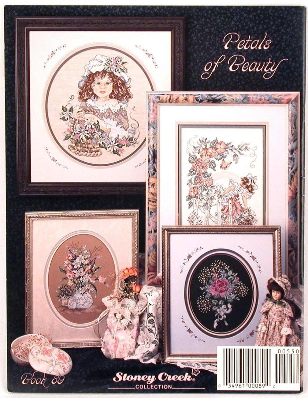 Petals of Beauty Stoney Creek Cross Stitch Patterns Book 89 Flowers