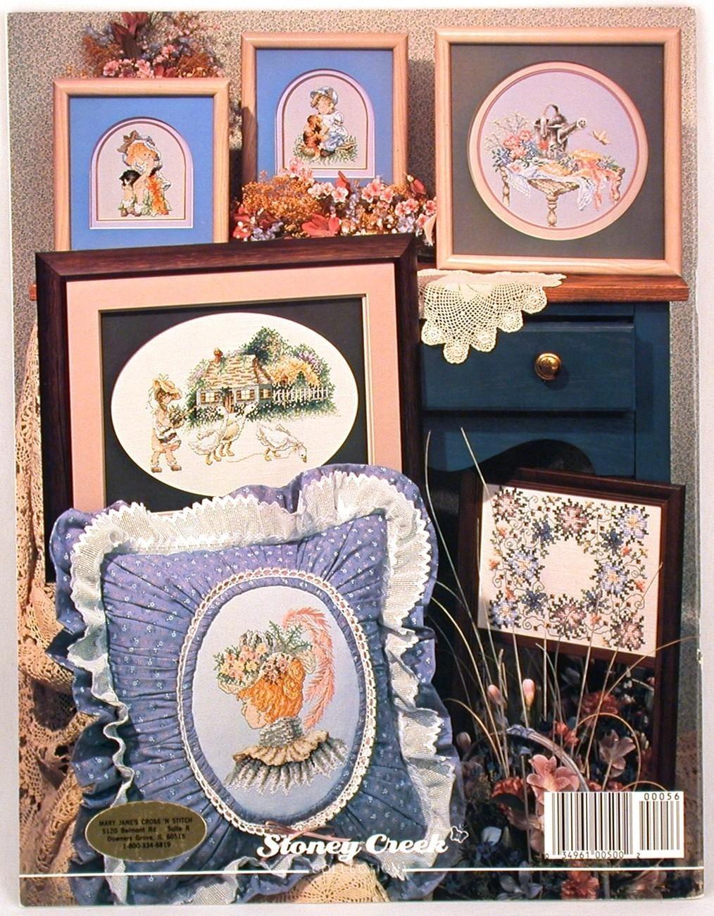 Garden Treasures Cross Stitch Patterns Stoney Creek Flowers Book 56 Flowers