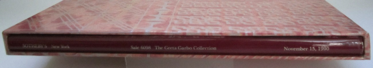 Sotheby's Greta Garbo Collection Auction Catalog Sale 6098