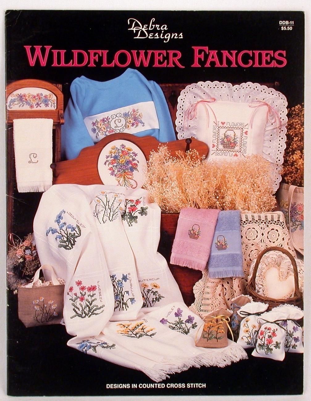 Cross stitch wildflower designs
