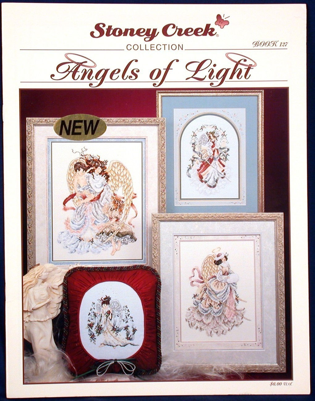 Angels of Light Stoney Creek 6 Cross Stitch Patterns Book 127