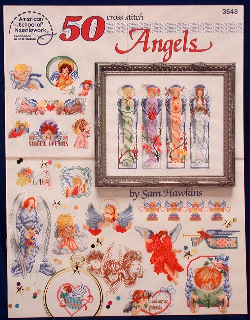 Cross stitch 50 angels hawkins