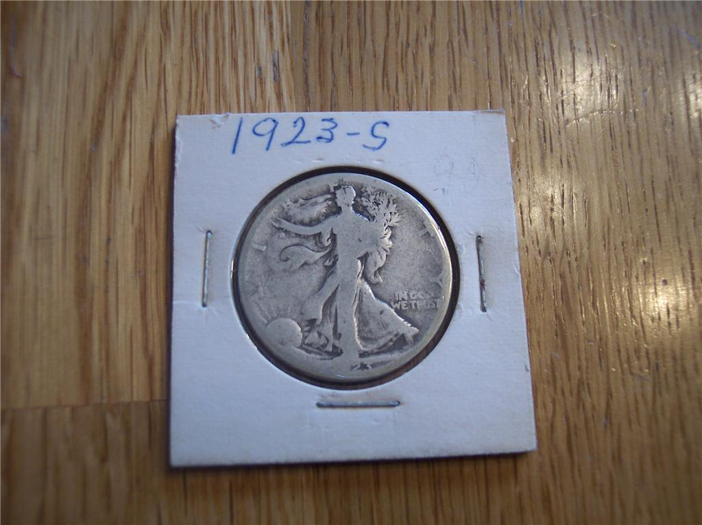 Primary image for 1923 S Walking Liberty Half Dollar