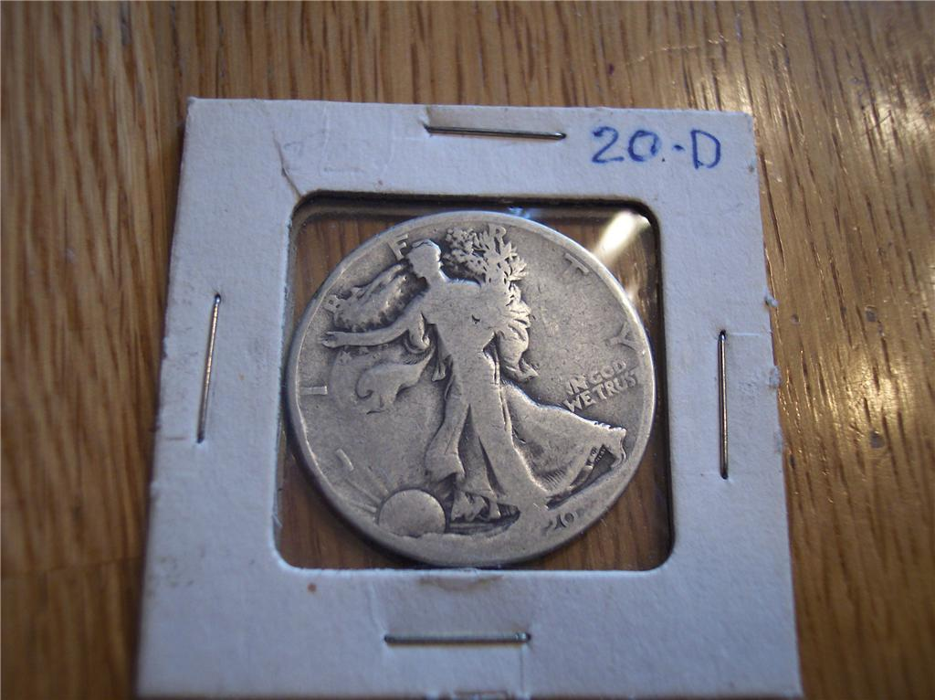 Primary image for 1920 D Walking Liberty Half Dollar