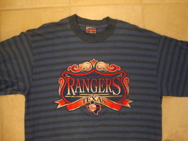 Vintage Texas Rangers baseball T Shirt XL - $16.77
