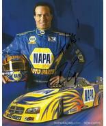 2010 RON CAPPS NAPA NHRA FUNNY CAR POSTCARD SIGNED - $10.95