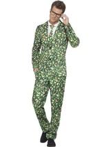 Brussel Sprout Suit, XL, Christmas Fancy Dress, Mens - $66.08