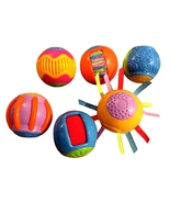 Fisher-Price Roll-a-Rounds: Touch 'N Tickle Rounds Tactile Sensory Balls - $19.90