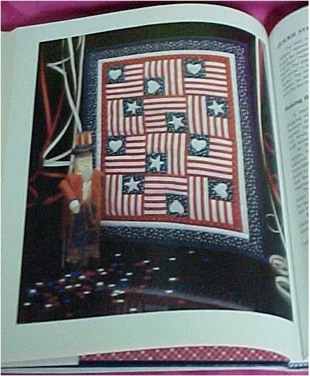 Book, Country Fabric Scrap Crafts by Marti Michell, Early America Patterns