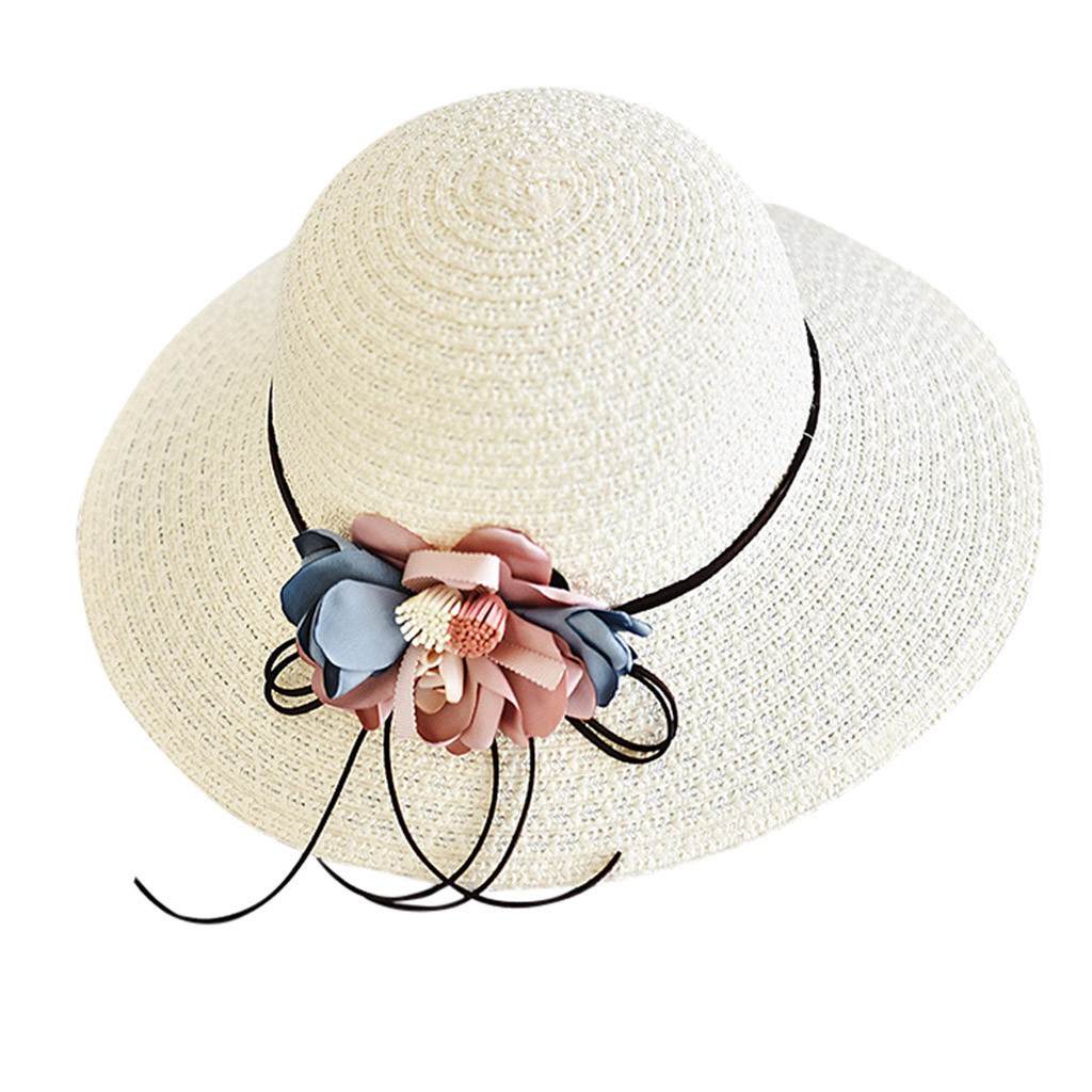 Primary image for Feitong 2019 women hat Ladies Women Wide Brimmed Floppy Foldable Summer Sun Beac