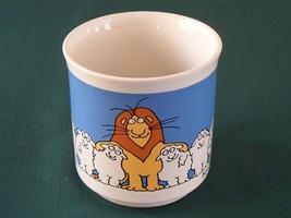 Boynton Lion And Sheep Coffee Mug Good Condition - $12.50