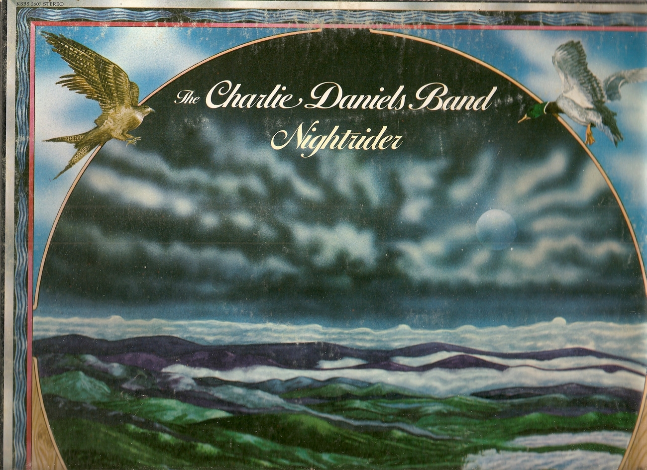 LP--Charlie Band Daniels Nightrider