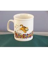 Garfield Flowers Coffee Mug 10 oz VGC - $8.25