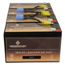 Apc SMART-UPS 1400RM Rackmount Replacement Battery RBC8 Complete Kit - $70.13