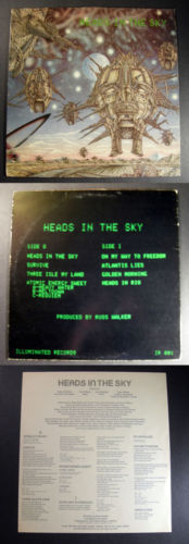 Canada prog HEADS IN THE SKY 1979 ILLUMINATED LP