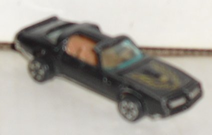 Vtg 1979 KIDCO black Pontiac FIREBIRD die-cast Car