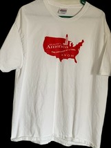 Beautiful America Avon Adult Unisex Hanes Graphic T-Shirt White 100% Cot... - $7.91