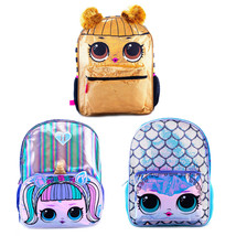 L.O.L Surprise! Backpack Unicorn, Mermaid, Queen Bee for Girls School Ba... - $23.95
