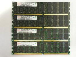 16GB 4X4GB MEMORY DDR2 DELL POWEREDGE M605 M805 M905 2970 6950 R300 R805 R905