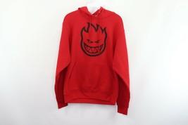 Vtg 90s Spitfire Herren S Bann Out Flammen Logo Skateboard Kapuzenpullover - $58.97