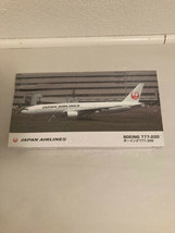 Hasegawa Japan Airlines Boeing 777-200 1:200 Scale Plastic Model Kit 107... - $32.29