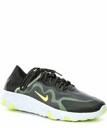 NIKE MEN'S BQ4235 005 RENEW LUCENT BLACK VOLT PLATNIUM TRAINING SHOES Si... - $65.41