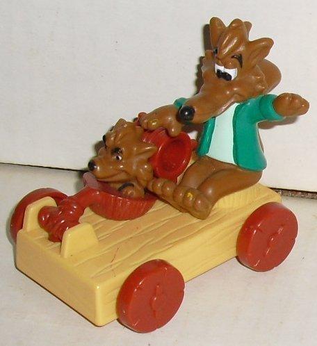 PIGGSBURY PIGS Huff & Puff toy McDonalds McD