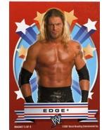 WWE Topps Heritage III Edge Magnet card WWF TNA CMLL AAA - $5.00