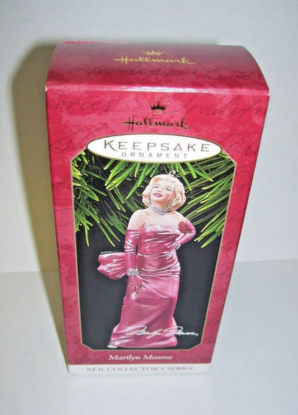 Primary image for Hallmark Ornament Marilyn Monroe 1997 MIB