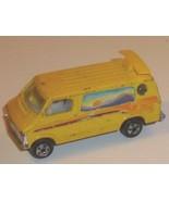 Vtg ZYLMEX  die-cast toy Car yellow DODGE VAN - $23.18