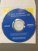 QuickBooks Enterprise 10 R1  Reinstallation Disc (No License) - $29.69