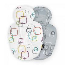 4moms Newborn Reversible Insert In Grey/White Soft And Plush Insert Fits... - $68.89