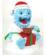 YETI SURPRISE Aquarium Fish Tank Christmas Figurine Abominable Snowman T... - $10.39