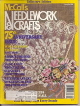 McCalls Needlework & Crafts 75th Anniversary Sept 1988 - $3.50