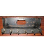 Vintage Metal Sewing Machine Cabinet Door Spool Holder w/Screws - $10.00