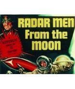 RADAR MEN FROM THE MOON, 12 CHAPTER SERIAL, 1952 - $19.99