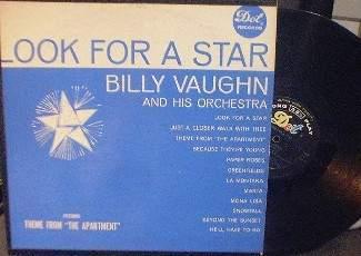 Billy Vaughn - Look For A Star - Dot DLP 3322