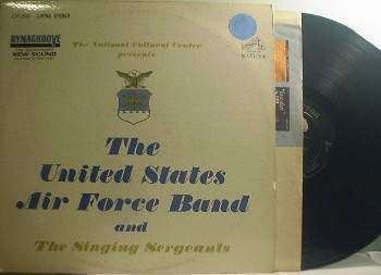 United States Air Force Band & Singing Sergeants - RCA Dynagroove LSP-2686