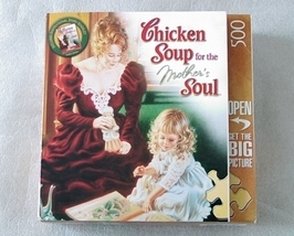 Jigsaw Puzzle Chicken Soup For The Mother's Soul - $6.95