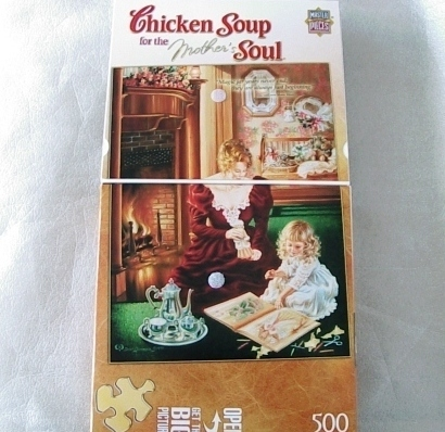 Jigsaw Puzzle Chicken Soup For The Mother's Soul
