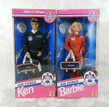 Air Force Barbie and Air Force Ken Thunderbirds 1993 Special Edition Mattel NRFB - $36.62