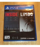 Inside + Limbo Playstation 4 PS4 Video Game Double Pack 2 Games by Playdead - $22.95