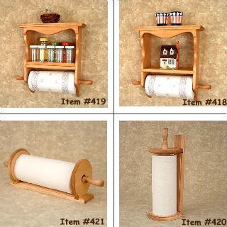 "Spice Rack Wall Mounted - ""Americana Cabin"" Spice Rack"