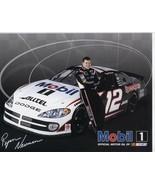 Lot 2 Ryan Newman NASCAR Dodge Promo Cards 2002 2003 Mobil Race Cars - $7.00