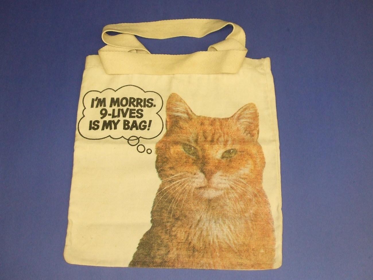 Morris The Cat Bag