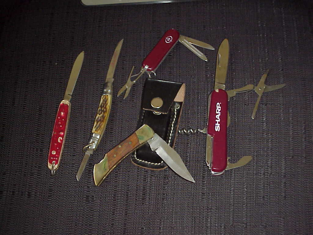 Swiss Army Knife Copy  Lot of 2  ,  (5 Different)