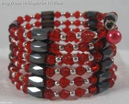 Red Crystal Magnetic Hematite Lariats - $14.00